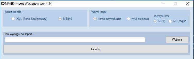 f_import wyciągów